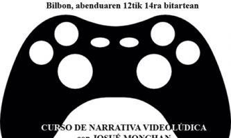 CURSO DE NARRATIVA VIDEOLÚDICA