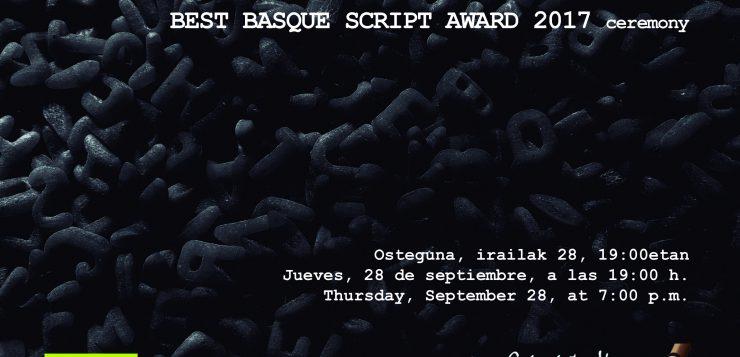 Zinemaldia – Premio mejor Guión Vasco