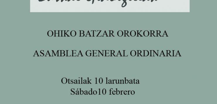 Asamblea General de Guionistas de Euskal Herria