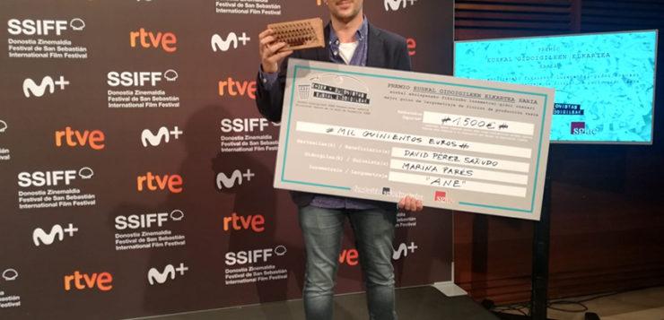 «Ane» se lleva el premio a MEJOR GUION VASCO en el 68SSFF